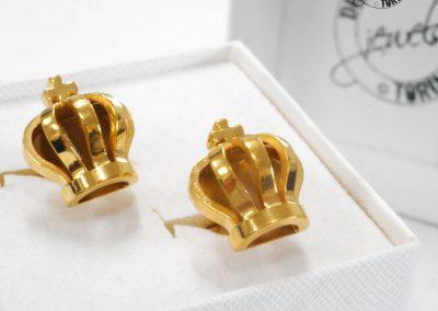 Gioiello per lui - Gemelli in argento dorato